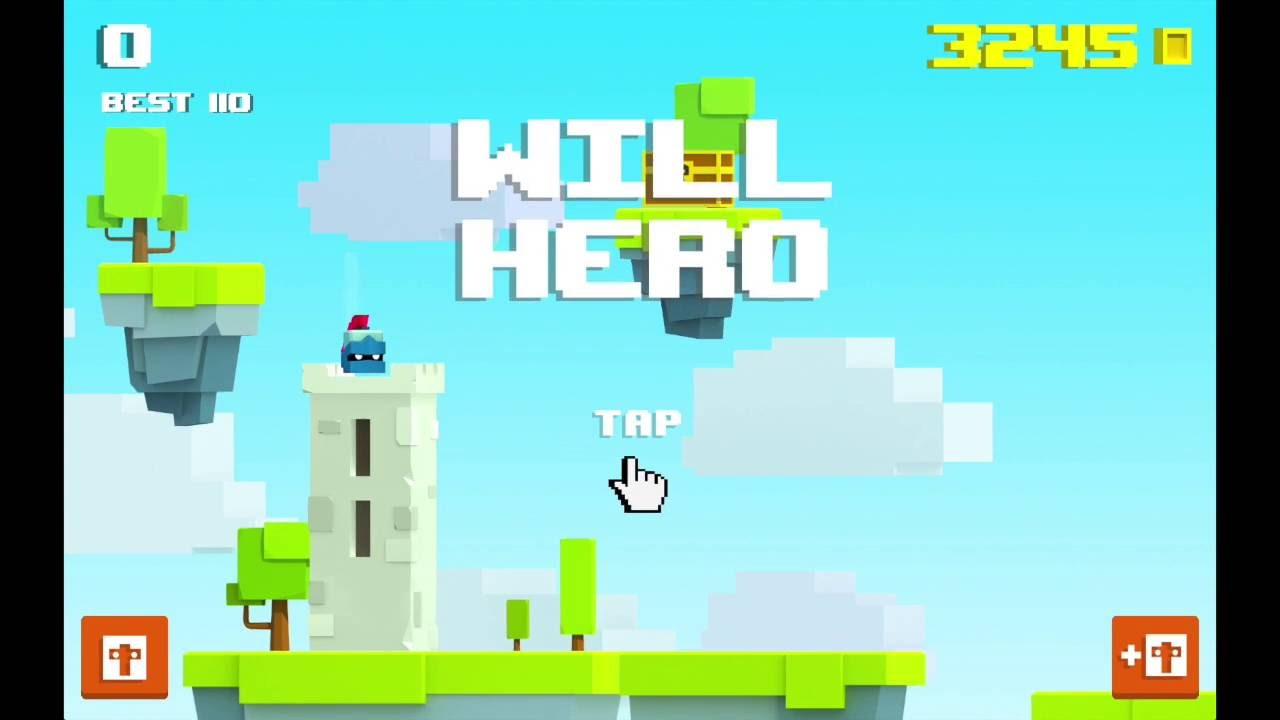 photo image Upcoming 'Will Hero' Is a Fun Platformer With One-Tap Controls