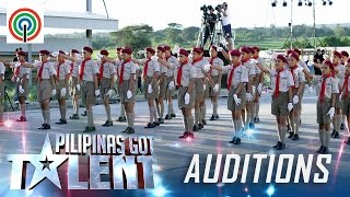 Video Pilipinas Got Talent Season 5 Auditions: Mabini Senior Scouts - Drill Performers MP3, 3GP, MP4, WEBM, AVI, FLV Desember 2017