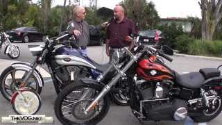 6. Victory Vegas vs. Harley-Davidson Dyna Wide Glide Motorcycle Comparison