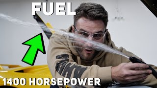 What does 1400 HP of Fuel Flow look like? 3 Pumps working together by Rob Dahm