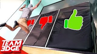Don't Fall Through the Wrong Ceiling | Second Story Jump!!