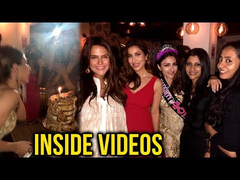 Soha Ali Khan Birthday Celebrates | Inside Videos