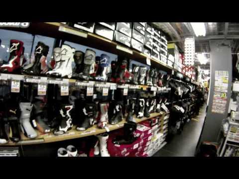 Motorcycle riding gear shop: Naps Tokyo