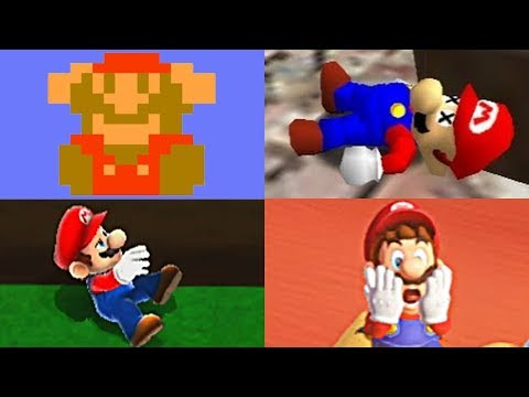 EVOLUTION OF MARIO DEATHS & GAME OVER SCREENS + Super Mario Odyssey  (1983-2017 - NES to Switch) (видео)