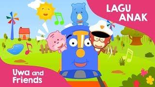 Download Video Youtube lagu anak Naik kereta api tut tut tut - Lagu anak Indonesia taman kanak kanak MP3 3GP MP4
