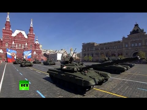 military - Over 11000 troops, 101 military hardware and 68 fighter jets and helicopters have taken part in the parade on Moscow's Red Square - the biggest event among ...
