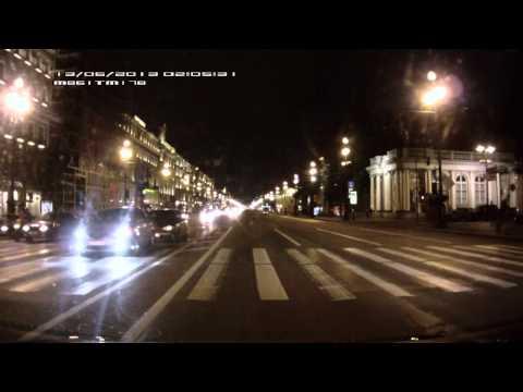 ДТП на Невском проспекте в 02:06