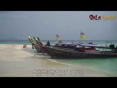 Suwan Macha croisière en Thaïlande (Suwan Macha boat cruise - Galatourist)