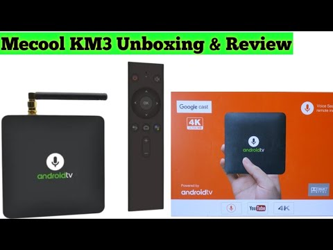Mecool KM8 Android Tv box Google Certified With Voice Remote | BR Tech Films |