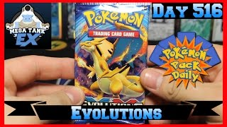 Pokemon Pack Daily Evolutions Booster Opening Day 516 - Featuring Mega Tank EX by ThePokeCapital