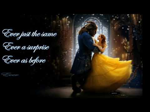BEAUTY & THE BEAST LYRICS   ARIANA Ft JOHN LEGEND Mp3