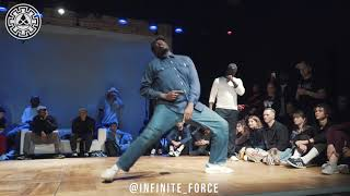 Monsta Pop vs Iron Mike – INFINITE POPPING 2019 STYLES&CONCEPTS SECOND STAGE