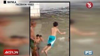 Video Sapul sa bidyo | Batang lalaki na tumalon sa Ilog Pasig, di na lumutang MP3, 3GP, MP4, WEBM, AVI, FLV September 2018