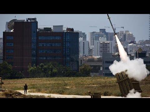 Proche-Orient : cinquième nuit de raids et de tirs de roquettes