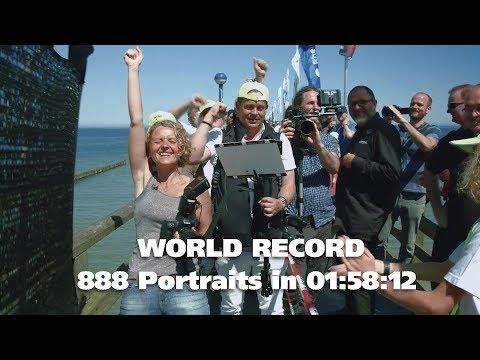Weltrekord - 888 professionelle Portraits in 7.092 Sekunden