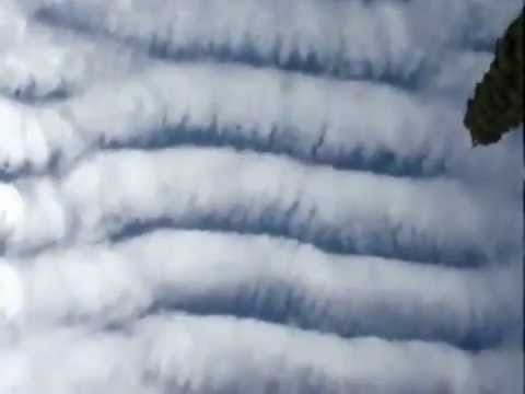 HAARP in Action! Weird Man-Made Scalar Wave Clouds!