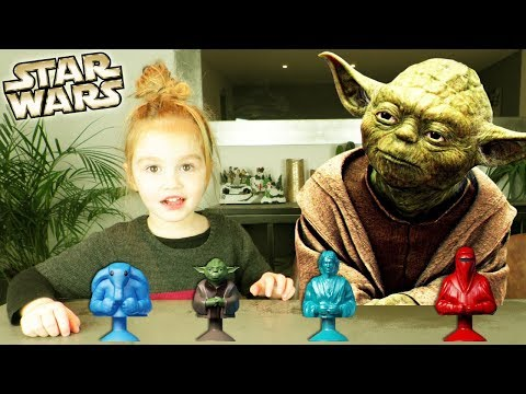 Ouverture de 11 sachets surprises Micropopz Star Wars Leclerc - Yoda Dark Vador Skywalker Obiwan