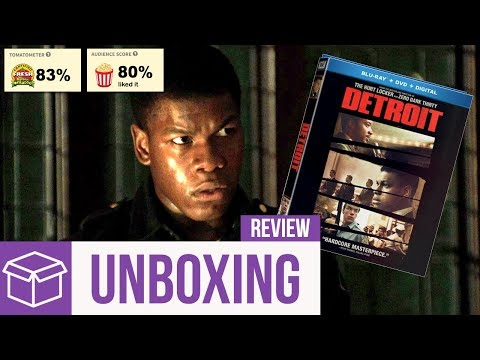 Detroit Blu Ray Unboxing + Review (Digital HD Giveaway)