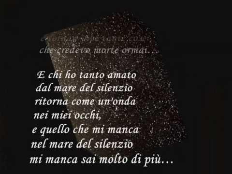 , title : 'Andrea Bocelli La Voce del Silenzio  lyrics'