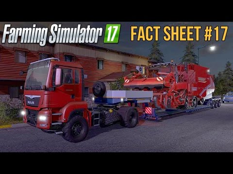 FARMING SIMULATOR 17 FACT SHEET #17