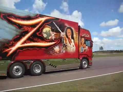 Грузовики Scania R V8 Ristimaa Zorro Sound 2