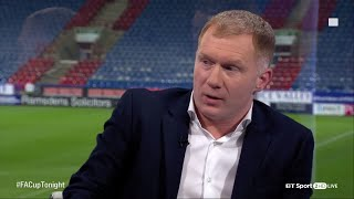 Video Paul Scholes explains his secret Manchester United comeback on FA Cup Tonight MP3, 3GP, MP4, WEBM, AVI, FLV September 2019