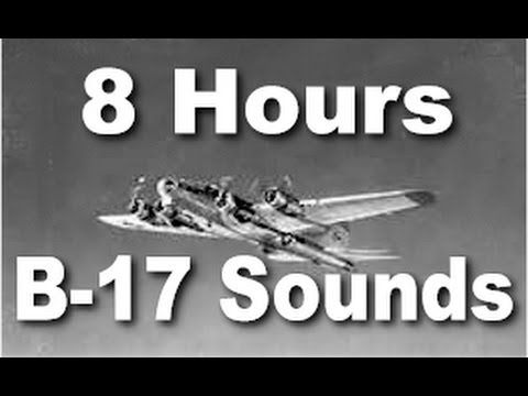 B17 - Let our virtual B-17 airplane sound lull you to sleep with a low frequency engine drone in stereo. This is an 8 hour long version designed to run all night. ...