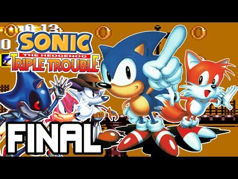 ¡¿Qué hace METAL SONIC en éste juego?!   Sonic Triple Trouble (Sonic & Tails 2) FINAL - Español