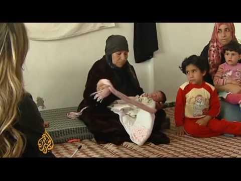 Syria refugees struggle outside Jordan camps
