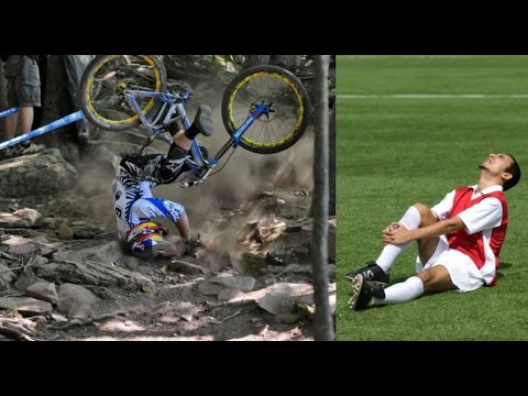 Mountain Bike vs Football (видео)