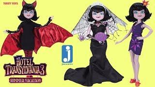 Mavis Doll Haul Hotel Transylvania 3 Summer Vacation Poseable Dolls Jazwares Tubey Toys Mavis Dolls