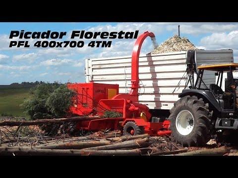 Picador Florestal a Tambor Lippel - PFL 400 x 700 MS