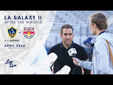 Video: After The Whistle: Mike Muñoz | LA Galaxy II vs. New York Red Bulls II
