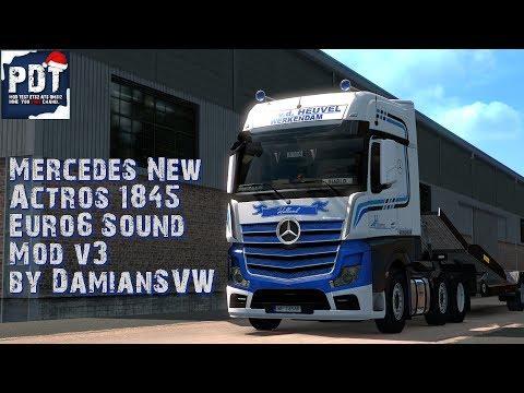 Mercedes Actros 1845 Euro6 Sound v3.0 1.33.x