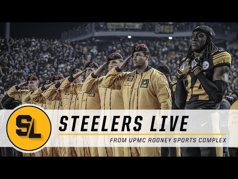 Le'Veon Bell Update, AFC Standings & Salute to Service | Steelers Live