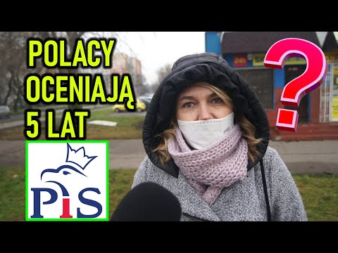 Jak Polacy oceniają 5 lat rządów PiS? SONDA ULICZNA