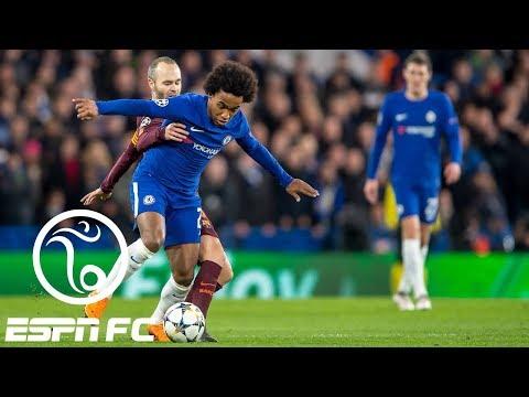 Chelsea earns hard-fought 1-1 Champions League draw vs. Barcelona | ESPN FC (видео)