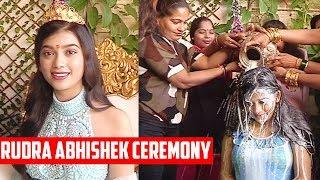 Download Video Digangana Suryavanshi Celebrates Her Birthday 2018: UNCUT Video Of Rudra Abhishek Ceremony MP3 3GP MP4