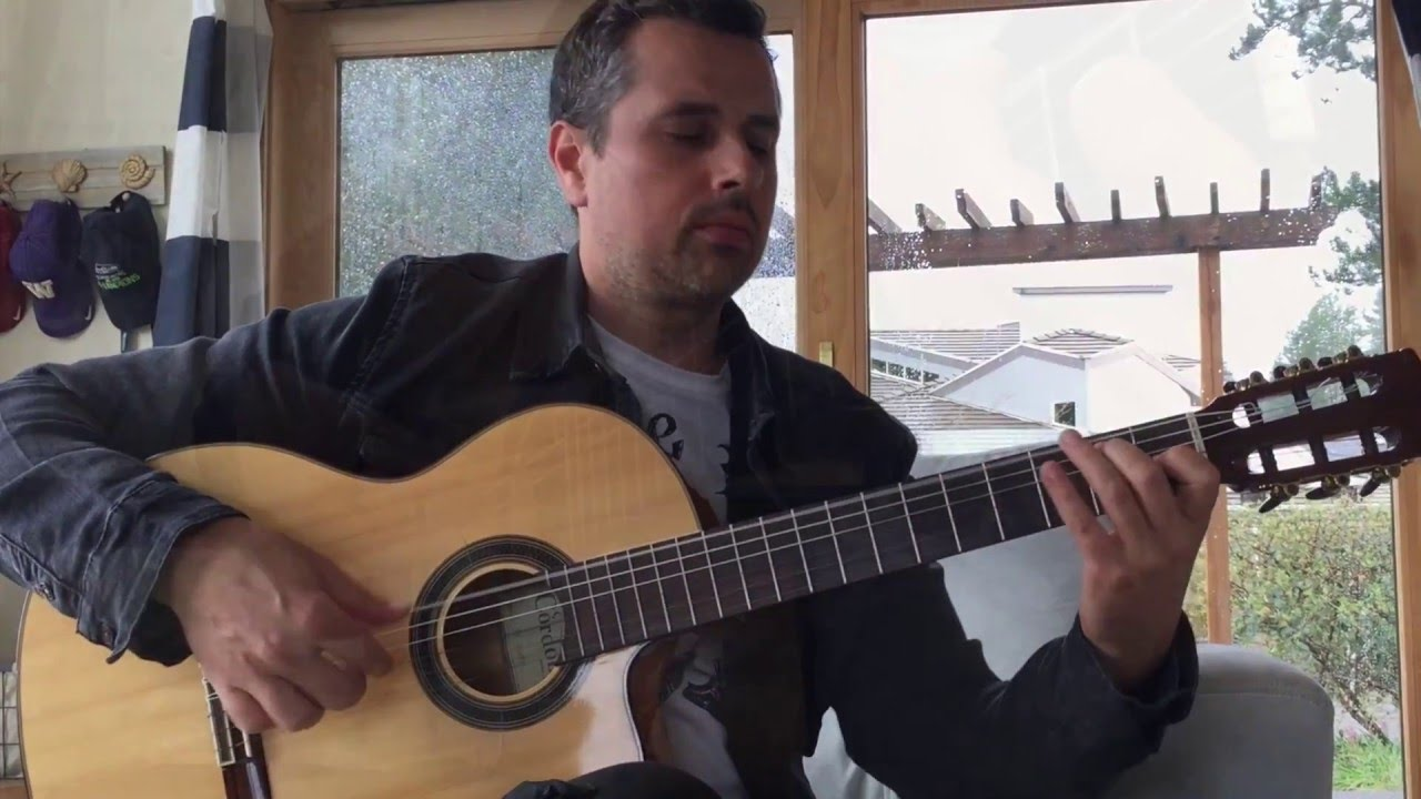 Elevate (Winery Dogs) Acoustic Flamenco Guitar – Ben Woods