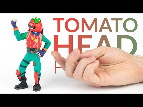Tomato Head Fortnite Battle Royale – Polymer Clay Tutorial