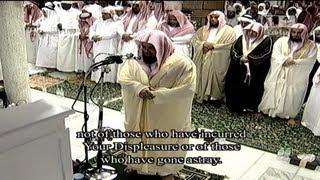 Translation| 27th Night Makkah Tahajjud 2013 Sheikh Shuraim