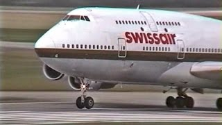 Classic footage of the Swissair Boeing 747-300 filmed in 1997 at Zurich Airport. Download the full 2 hour film for just $15 at ...