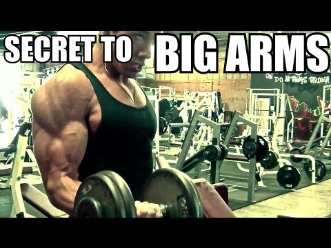 ARM WORKOUT REVEALED Natural Teen Bodybuilder Christian Guzman Biceps and Triceps