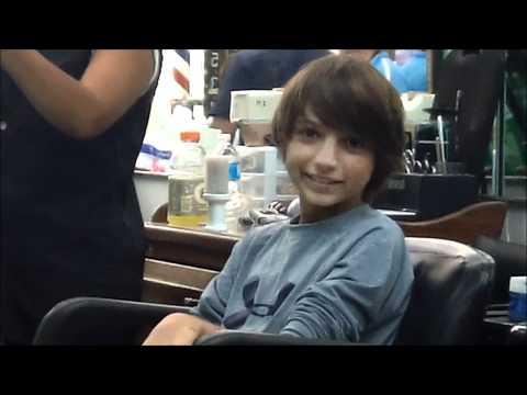Jared and Jacob Haircuts 201109
