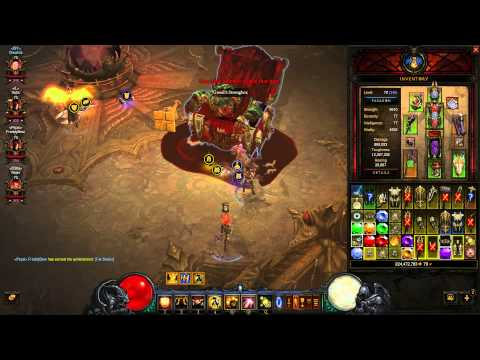Diablo 3 RoS 2.1 - 300 million gold per hour!!! - Goblin Vault - farm gold and goblins