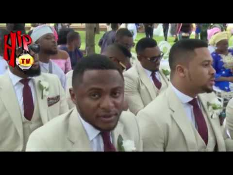 MOMENTS FROM YOMI CASUAL'S LAVISH WEDDING TO GRACE ONUOHA (Nigerian Entertainment News)