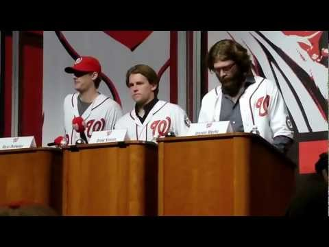 Detwiler - Players play Jeopardy at Natsfest.