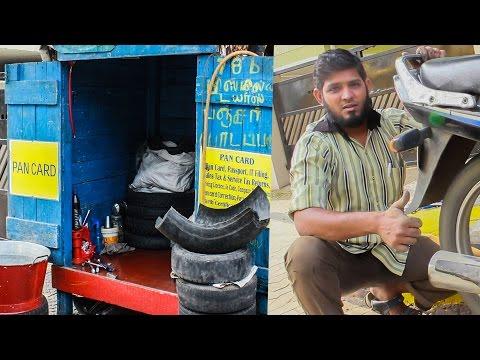 Punctured-tyre-how-to-fix-DemoCrazy