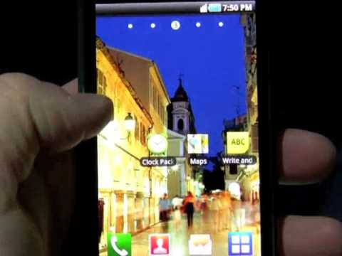 Youtube Video Samsung Galaxy S i9000 als Telekom Ware in schwarz mit 8 GB Speicher
