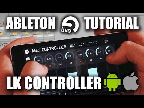 LK Ableton LIVE no ANDROID e iOS (Tutorial PT/BR)